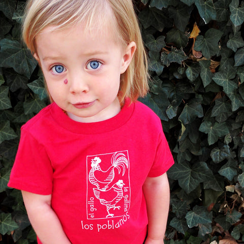 Gallo Y Gallina Toddler T-Shirt