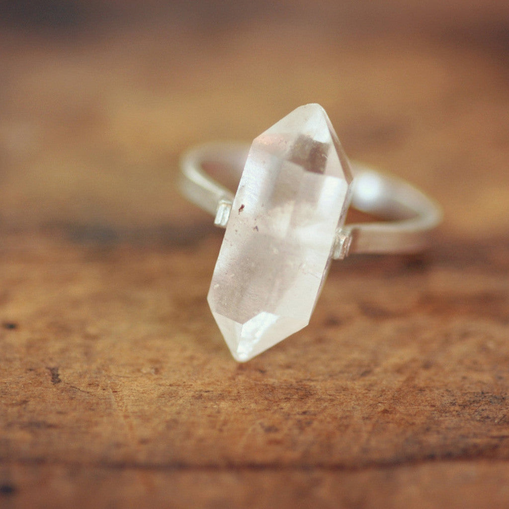 Herkimer diamond ring farm shop herkimer diamond ring junglespirit Image collections