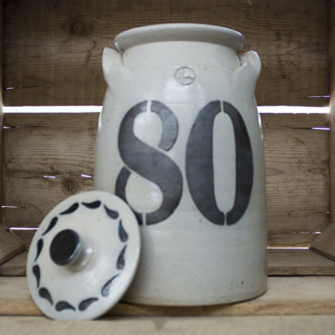 "House Industries ""80"" Lidded Crock"