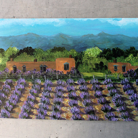 Adobe Lavender Field Card
