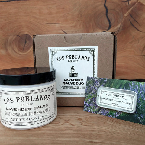 Lavender Salve Duo Gift Set