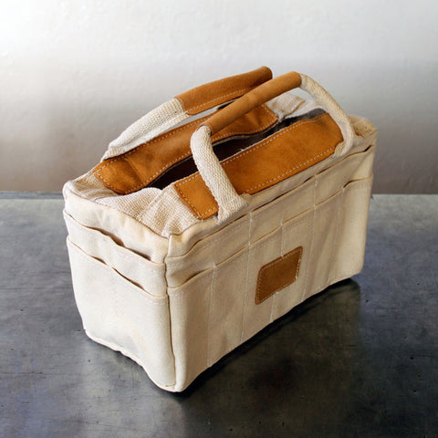 Canvas & Leather Rigger Tote