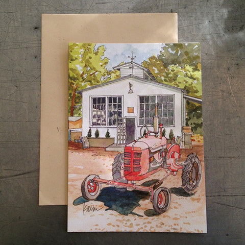 Red Tractor Card