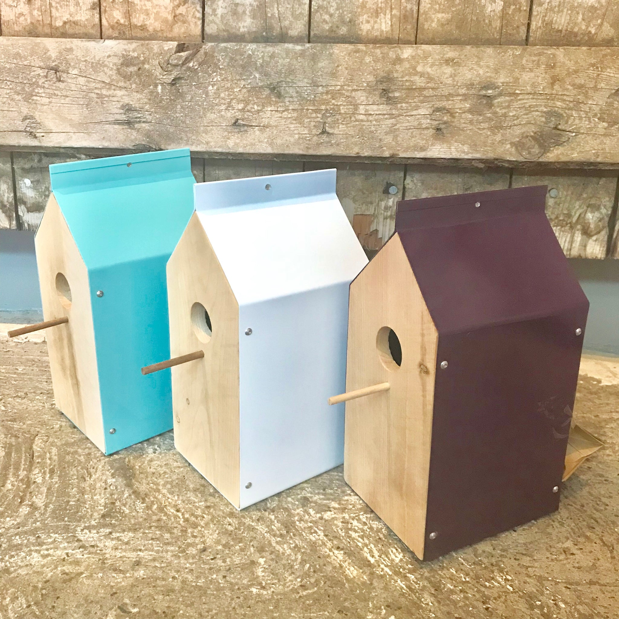 Milk Box Bird House
