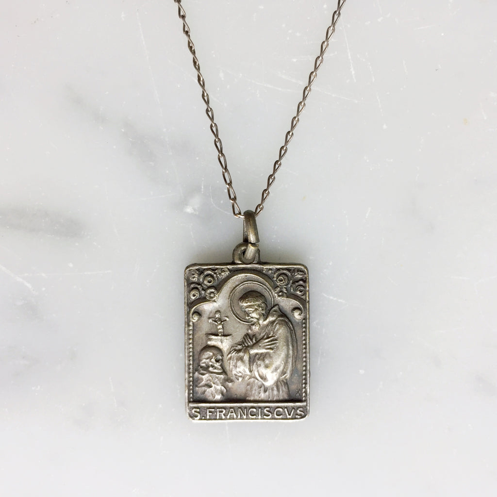 St. Francis Pendant Necklace - 1926