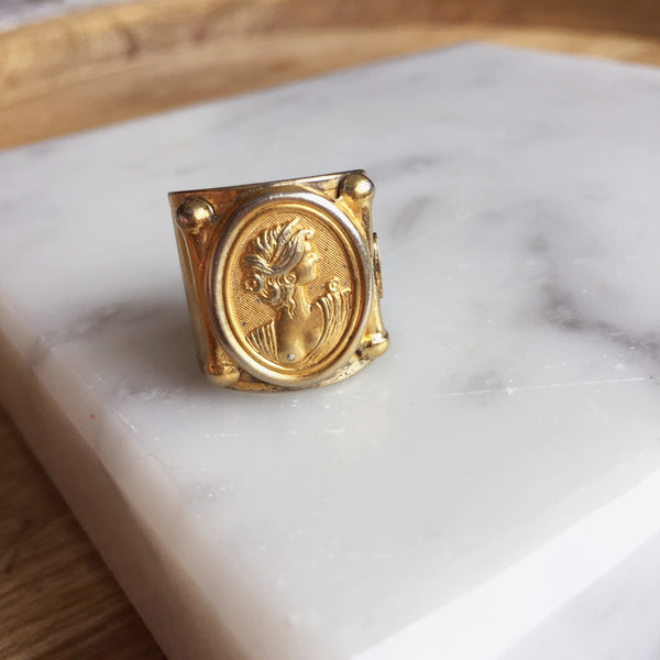 Goddess of Wisdom Ring