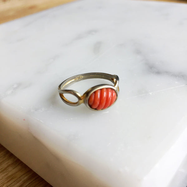 The Italian Coral Ring