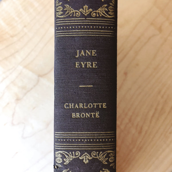 "Early 1900s Edition of ""Jane Eyre"" by Charlotte Brontë"