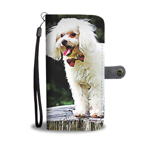 Personalized Poodle Wallet Phone Case - FREE SHIPPING
