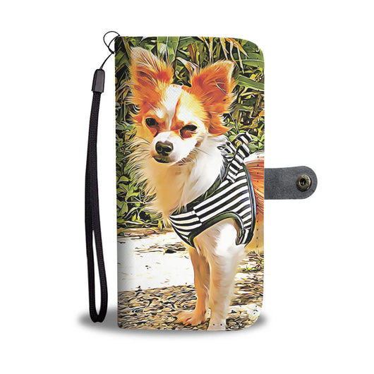 Personalized Chihuahua Designed Wallet case - FREE SHIPPING