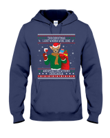 Chihuahua - Wine Lovers Ugly Christmas Sweaters