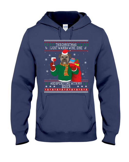 boxers wine lovers ugly christmas sweaters