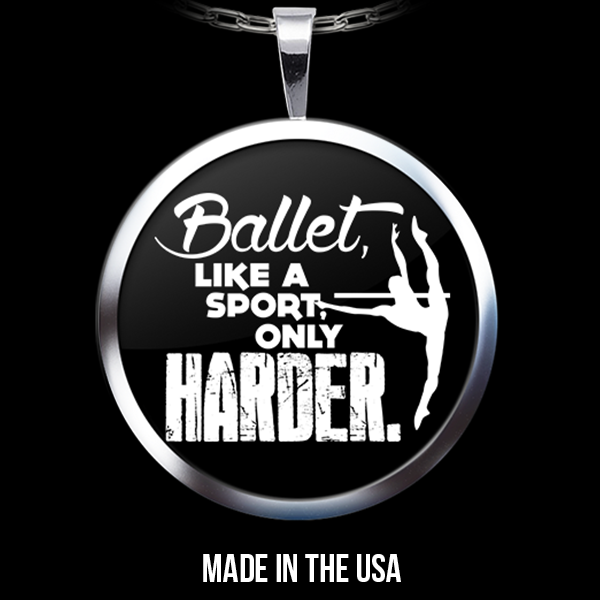 Ballet Like a Sport - Necklace
