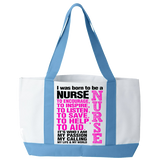 Born To Be a Nurse - Tote Bags