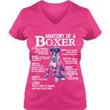 Anatomy Of a Boxer - T-shirts