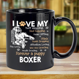 I Love my Boxer Dog - Mug