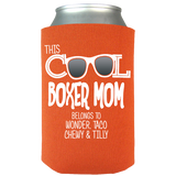 Cool Boxer Mom - Koozies Personalized