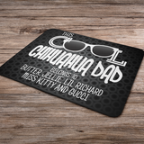 Cool Chihuahua Dad - Mouse Mats Personalized