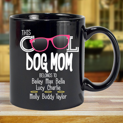 Cool Dog Mom - Mug Personalized