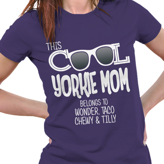 This Yorkie Mom Belongs to...