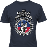 German Shepherd Dog T-shirt - My Homeland Security