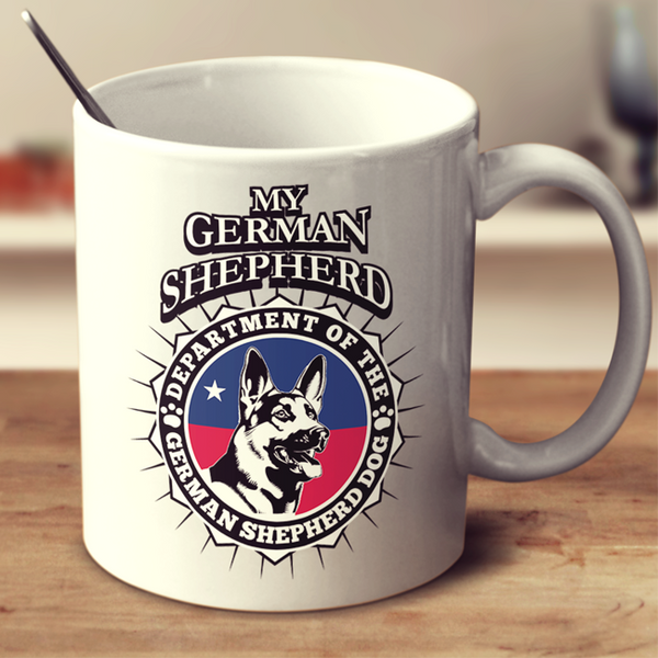 German Shepherd Dog Mug - My Homeland Security