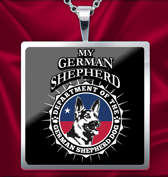 German Shepherd Dog Necklace - My Homeland Security