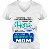 Proud Nurse Mom - T Shirt