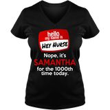 Hey Nurse - T-shirt Personalized