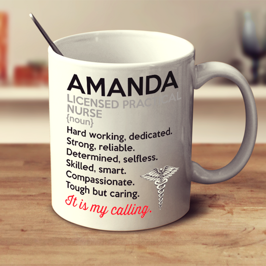 Licensed Practical Nurse It's my calling - Mug- Personalized