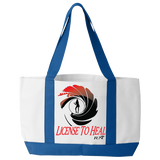 License to Heal - Funny Nurse Tote Bag