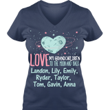 Moon and Back Grankids - Personalized T Shirt