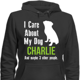 My Dog and 3 Other People - T-shirt - Personalized