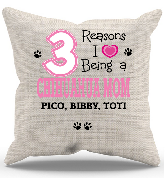 Chihuahua - Reasons I Love Pillow Case