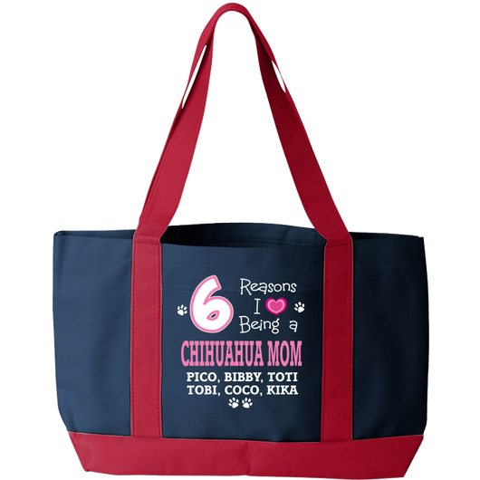 Chihuahua - Reasons I Love Tote Bags Personalized