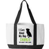 My Dog and 3 Other People - Tote Bag Personalized
