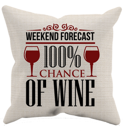 Wine Forecast - Pillow Case