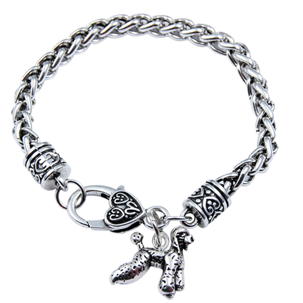 Poodle Bracelet Silver Alloy - Free shipping