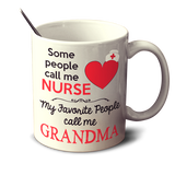 Some People Call Me Nurse - Mug - Personalized