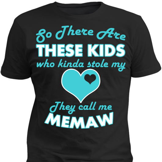 They Stole My Heart - T-shirts - Personalized