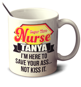 Superhero Nurse - Mug - Personalized