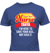 Super Hero Nurse's T-shirts - Personalized