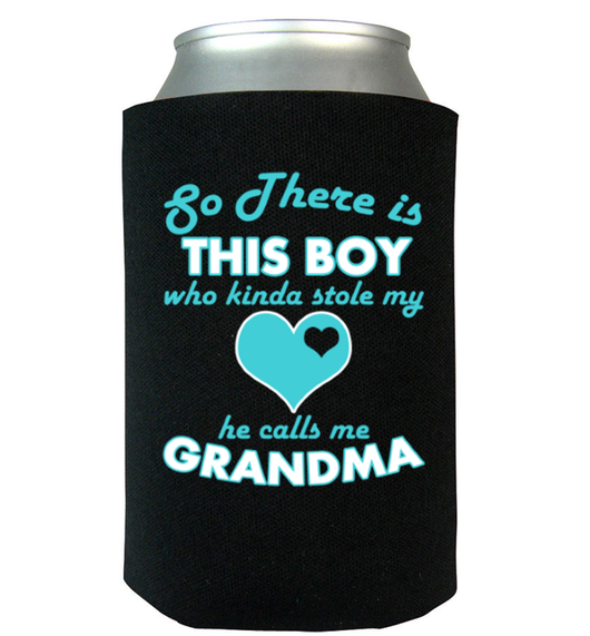 Stole My Heart Can Koozie