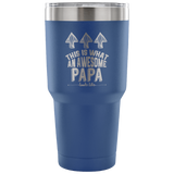 Awesome Papa 30 Oz Vacuum Tumbler