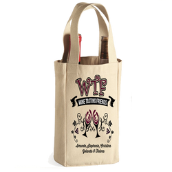 WTF - Personalized Wine Tote Bag