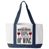 Wine Forecast - Tote Bags
