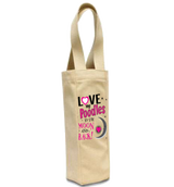 Poodles - Moon & Back - Wine Bags