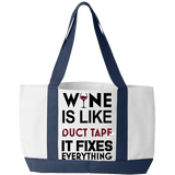 Wine Like Duct Tape - Tote Bags
