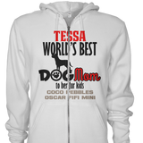 Worlds Best Dog Mom - T-shirt Personalized
