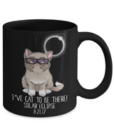Funny Solar Eclipse Mug for Cat Lovers - August 21st 2017